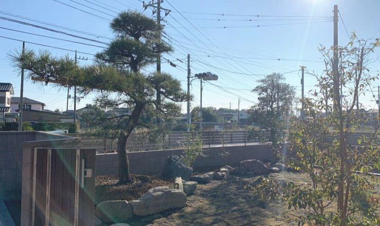 熊谷市N邸様の和風庭園